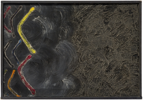 Forrest Bess (1911-1977), Untitled (The Black Bitch)