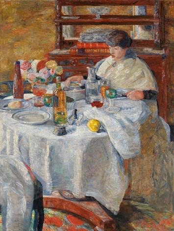 James Ensor La mangeuse d'huîtres (The Oyster Eater)