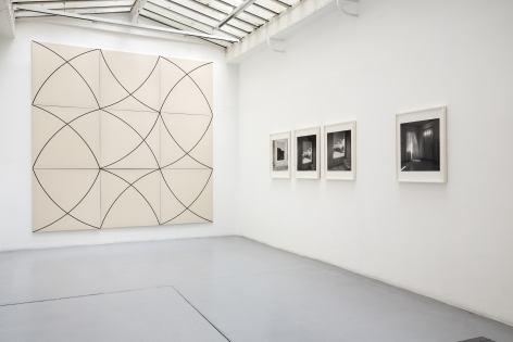 Push Pins in Elastic Space, curated by Gabriel Kuri– installation view 4
