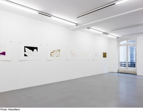 Thomas Schütte: Woodcuts 2011– installation view 7