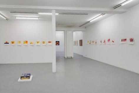 Anne-Marie Schneider – installation view 1