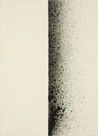 Charlotte Posenenske, Spritzbild [Sprayed Picture]