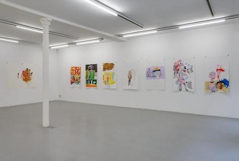 Anne-Marie Schneider – installation view 8