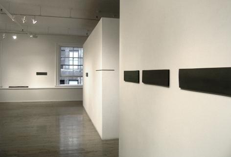 Helen Mirra: Hewn third– installation view 2