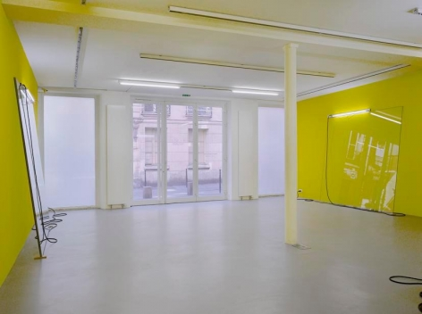 Pedro Cabrita Reis: Abstr(action).– installation view 3