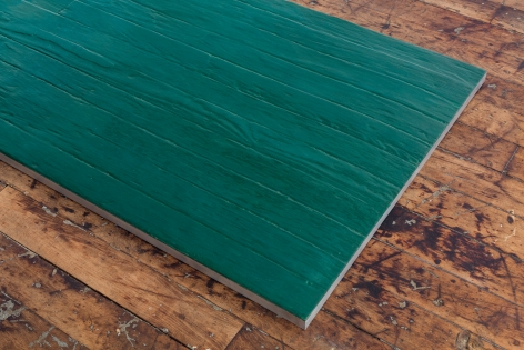 Alex Hay Untitled (Green plank)