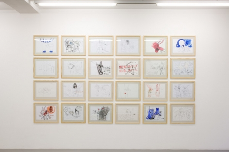 Stephen Wilks: Traveling Donkeys – installation view 3