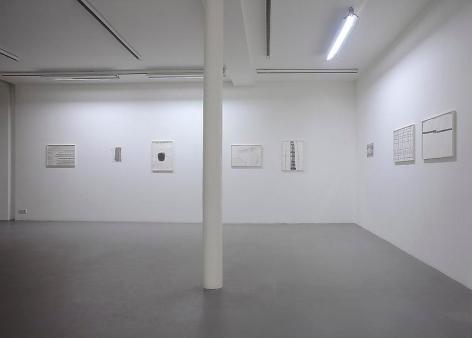 Silvia Bächli– installation view 3