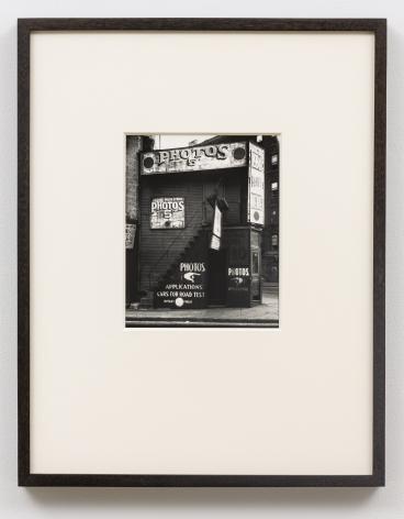 WALKER EVANS(1903-1975) License Photo Studio