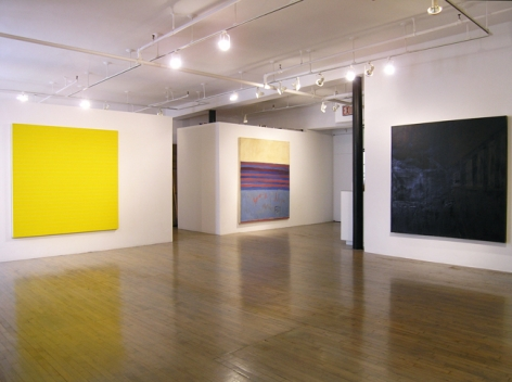 Frank Stella: Paintings 1958 - 1965 – installation view 1