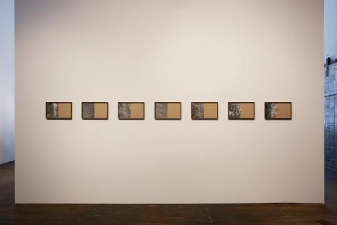 Helen Mirra: Waulked, – installation view 4