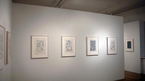 Jan Schoonhoven: Drawings– installation view 7