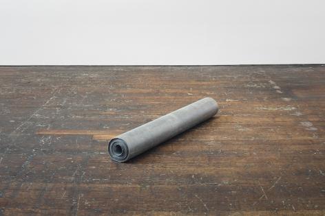 RICHARD SERRA, Untitled (Lead Roll)