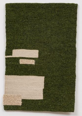 Helen Mirra Dark green, undyed, ecru