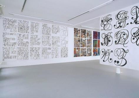 Matt Mullican:Love, Work, Truth and Beauty– installation view 3