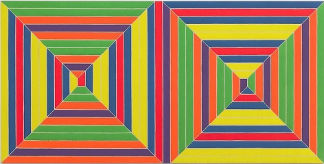 Frank Stella Double Mitered Maze