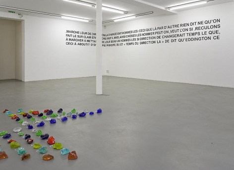 Mel Bochner, 1998-2007: Painting, sculpture and installation – installation view 9