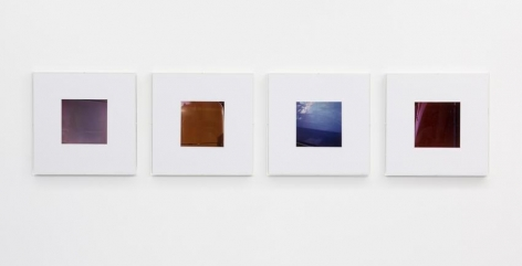Jan Dibbets Colorstudy F1, 2, 3, 4