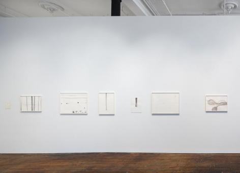 Silvia Bächli: further. evolves.– installation view 3