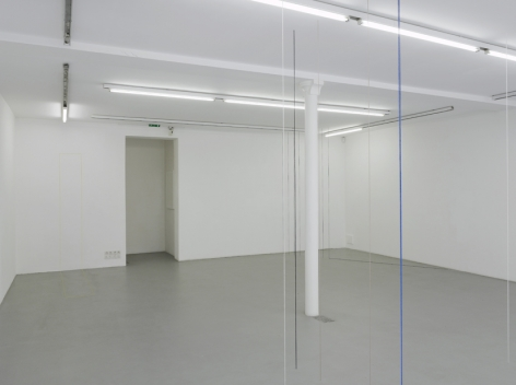 Fred Sandback – installation view 10