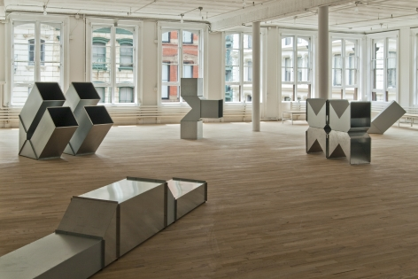 Charlotte Posenenske, Artist Space, New York
