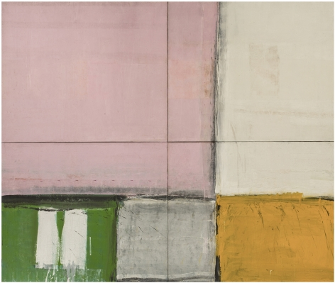 ALFRED LESLIE, Pink Square