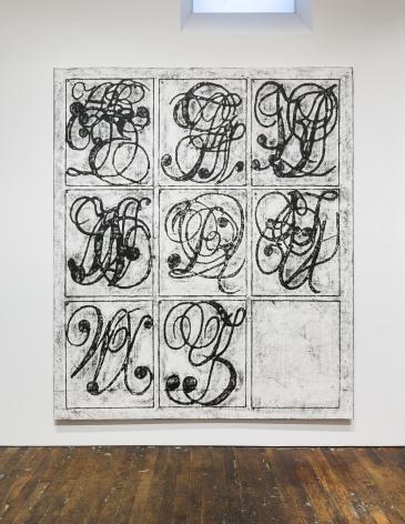 Matt Mullican Learning from That Person's Work (Alphabet)