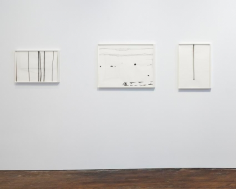 Silvia Bächli: further. evolves.– installation view 4