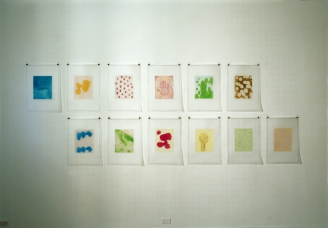 Thomas Schütte: New Watercolors (at 560 Broadway) – installation view 4