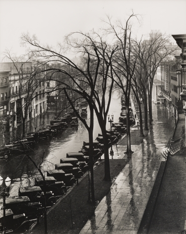 WALKER EVANS(1903-1975) Main Street, Saratoga Springs, New York