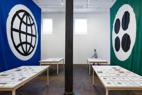 Matt Mullican: Pantagraph– installation view 4
