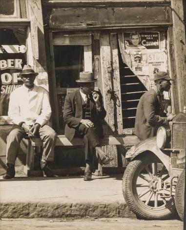 WALKER EVANS(1903-1975) Sidewalk in Vicksburg, Mississippi