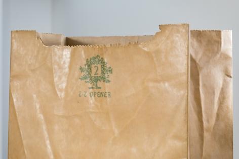 ALEX HAY, Paper Bag(detail)