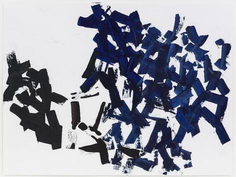 Charlotte Posenenske Spachterlarbeit [Palette-knife work]