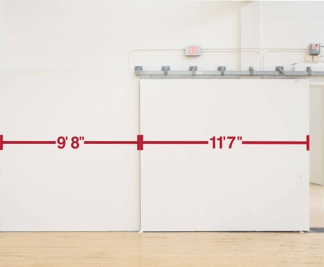 Measurement Room: No Vantage Point, 1969/2019