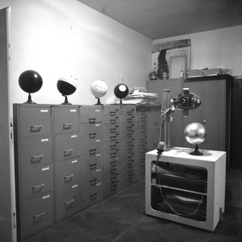 Installation view of Manifesti (Atelier Tose Dabac, Zagreb, Croatia, 1978)