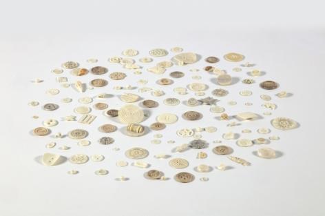 Buttons 2000-2001 130 human bone buttons
