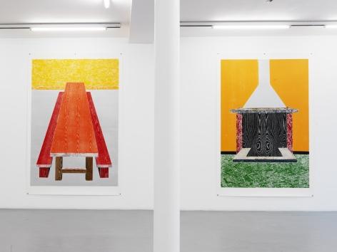 Thomas Schütte: Woodcuts 2011– installation view 3