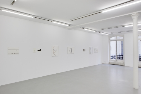 Silvia Bächli, Galerie Nelson–Freeman, Paris, France.