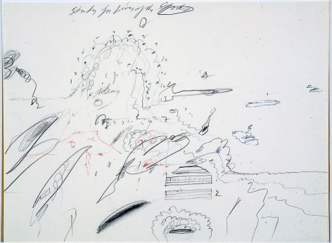 Cy Twombly (1928 - 2011),