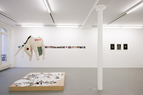 Stephen Wilks: Traveling Donkeys – installation view 1