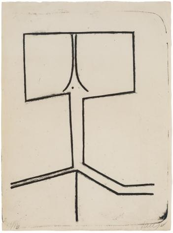 ELLSWORTH KELLY (1923-2015), UntitledAxsom no. 1