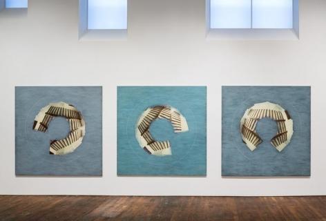 Jan Dibbets San Casciano Triptych