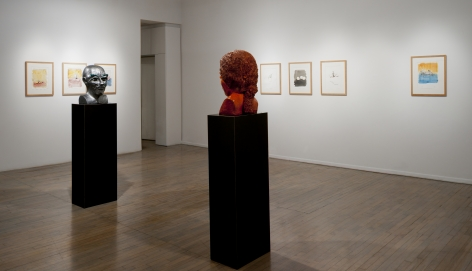 Thomas Schütte: New Watercolors (at 560 Broadway)– installation view 7