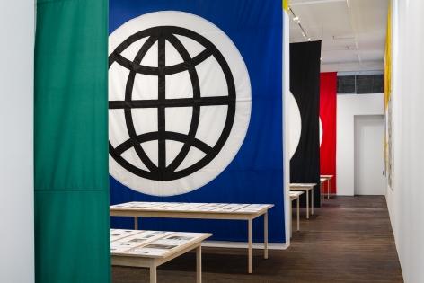 Matt Mullican: Pantagraph– installation view 2