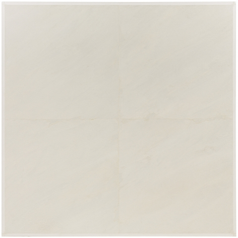 MARY CORSE, Untitled (White Grid, Diagonal Strokes)