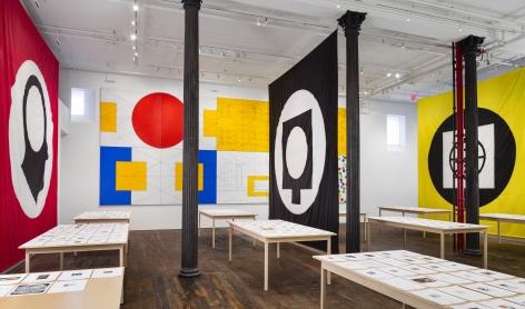 Matt Mullican: Pantagraph– installation view 10