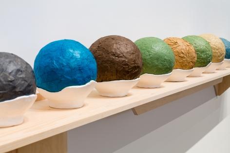 Circumstantial Balls (detail), 2003-2015