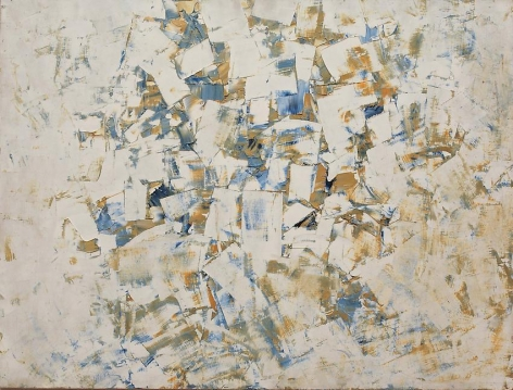 Charlotte Posenenske, Spechtelarbeit [Palette-knife work]