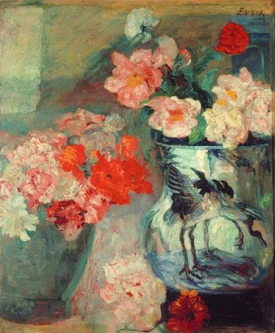 James Ensor Pivoines et pavots (Peonies and Poppies)